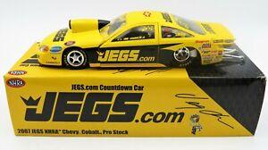 2007 NHRA CHEVY COBALT PRO STOCK JEGS COUNTDOWN CAR JEG COUGHLIN JR DIECAST 1/24