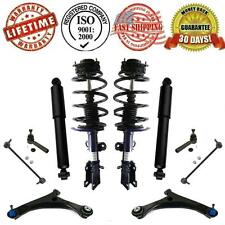 Complete Strut & Spring Assembly + Shocks + Control Arm Suspension Chassi Kit