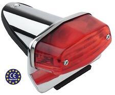 Fanale stop fanalino luce posteriore mini LUCAS omologato moto custom e Harley