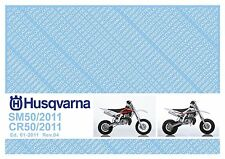 Husqvarna Parts Manual Book 2011 CR 50 & SM 50