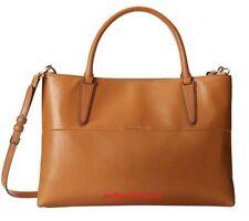 NWT Coach Soft Borough Bag in Napa Leather Gold Tan F32291