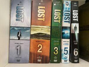 LOST serie DVD stagioni da 1, 2, 3, 5 E 6. Manca Stagione 4