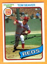 MINT/SHARP! 1980 TOPPS BURGER KING REDS TOM SEAVER #10