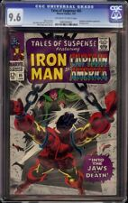 Tales of Suspense # 85 CGC 9.6 OW/W (Marvel, 1967) Mandarin cover & appearance