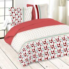 Parure de lit ISOCELE Rouge 240 x 260 cm