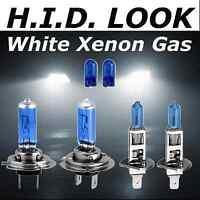 H7 H1 501 100w 477 448 White Xenon HID Look Headlight Dip main Beam Bulbs Pack
