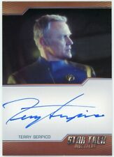 2019 Star Trek Discovery Season One Terry Serpico Bordered Autograph Limited