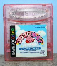 Koro Koro Kirby Gameboy Color Japanese Import Cartridge Only 2000 CGB-KKKJ-JPN