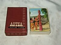 A Vintage Boxed Full Deck Of New Zealand Aotea Tourist Location Playing Cards