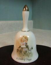 Vintage 1978 Enesco Pmi Precious Moments A Wedding Prayer Bell