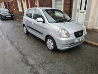 KIA PICANTO 4DOOR LITTLE 1.1 PETROL CAR WITH MOT TILL MARCH 2022