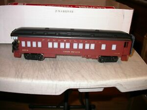 Lionel 0 027 Pennsylvania Times Square Passenger Observation Car 9514 Lighted