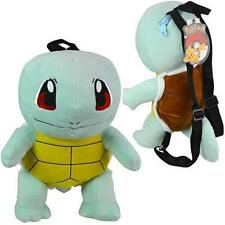 """NWT Brand New Licensed Nintendo Pokemon Squirtle 14"""" Plush Backpack Kids Cute"""