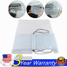 Transparent Air Conditioner Clean Dust Washing Cover Cleanner Waterproof Pvc Usa