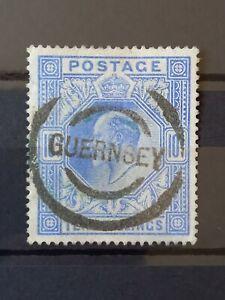 Gb KEVII 10/- Ultramarine Used