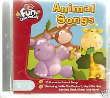 ANIMAL SONGS 30 FAVOURITE CHILDRENS CHAD VALLEY 6 MTHS+
