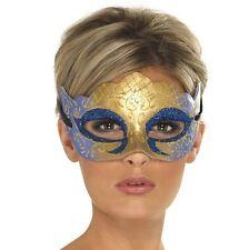 Masquerade Ball Fancy Dress Eye Mask Party Prom Venetian Farfalla New by Smiffys