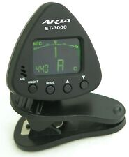 Aria ET-3000 Guitar/Bass/Ukulele Digital Clip On Tuner