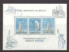 MONACO , USA , SAILING , SPORTS , 1985 , SOUVENIR SHEET , PERF , MNH , CV$6