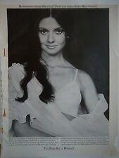 1965 Vintage Women's Warner's Body Bra Shape Like a Woman Ad