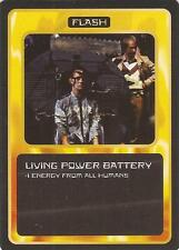 """Doctor Who MMG CCG - Flash """"Living Power Battery"""" Card"""