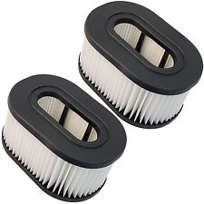 2x HQRP Washable Filters for Hoover Fold Away Widepath Bagless, Runabout Upright