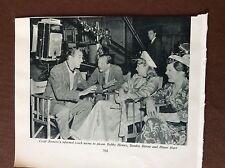 B1b ephemera 1952 film picture cesar romero bobby howes sandra dorne diane hart