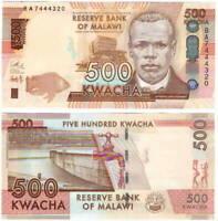 UNC MALAWI 500 Kwacha (2014) P-66