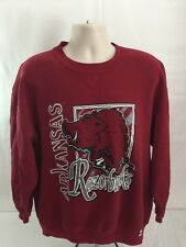 Vintage Arkansas Razorbacks Russell Athletics Crew New Sweatshirt Size 2XL