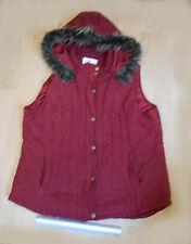 Edingburgh Wool Mill Ladies Hooded Waistcoat