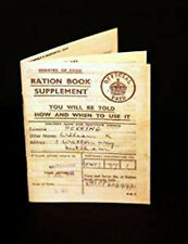 1940's-Wartime-Replica Ration Book-Perfect for School Project or Historical Day