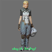 1/20 Model Kits Motor Girl Figure Uniform Lady Resin GK Unpainted Unassembled