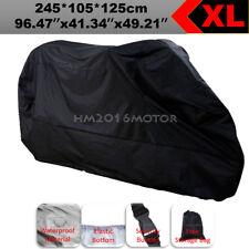 XL Motorcycle Cover Black For Honda CB CBF 500 550 600 650 750 900 1000 1100 CB1