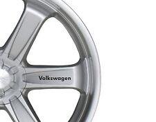 6x Car Alloy Wheel Sticker fits Volkswagen Bodywear Decal Sticker Adhesive PT75