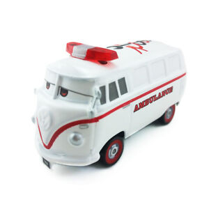 Disney Pixar Cars Fillmore Ambulance Diecast Toy Car Loose New Boys Gift