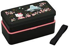Sanrio Hello Kitty Sakura Fuji lunch box Bento 2stage Belt