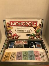 Monopoly: Nintendo Collector's Edition Board Game. Opened. Complete