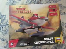 Vtg. 2014 Zvezda Disney Planes: Fire & Rescue Dusty Crophopper Model Kit NIB