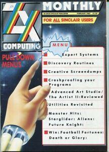 D208889 ZX Computing Vintage Computer Magazine February 1987