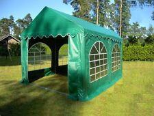 Partyzelt Bierzelt Pavillon Zelt 4x4 m grün PVC
