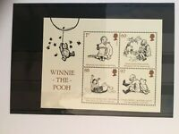 GB Winnie-The-Pooh miniature sheet superb throughout c/v £4.75 (2020) Was £7.50