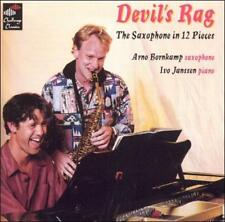 FREE US SHIP. on ANY 3+ CDs! NEW CD : Devil's Rag: The Saxophone in 12 Pieces