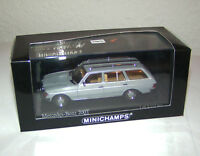 Mercedes-Benz 200 T - W 123 Break T-Modell Kombi grey / grau - Minichamps 1:43!