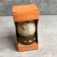 Anri 1980 Annual Egg, Third in series, style 624378 Hand Painted Easter