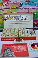 Vintage 1972 Readers Digest PLAYSKILLS KIT Board Game Home School Complete