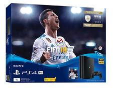 Sony PlayStation 4 Pro Console w/ Fifa 18 Bundle, 1TB, Jet Black [BRAND NEW]