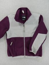 The North Face DENALI Fleece Jacket (Womens Medium) Purple