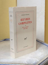 GEORGES BATAILLE - OEUVRES COMPLETES TOME 2 - 1970 - SURREALISME