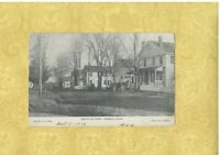 CT Hebron 1909 antique postcard HOMES SOUTH OF PARK Conn TO West Hartford