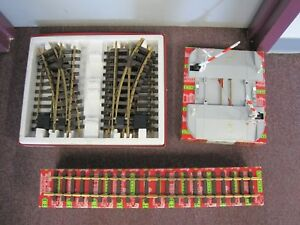 Lot of LGB Track and Accessory with Original Boxes